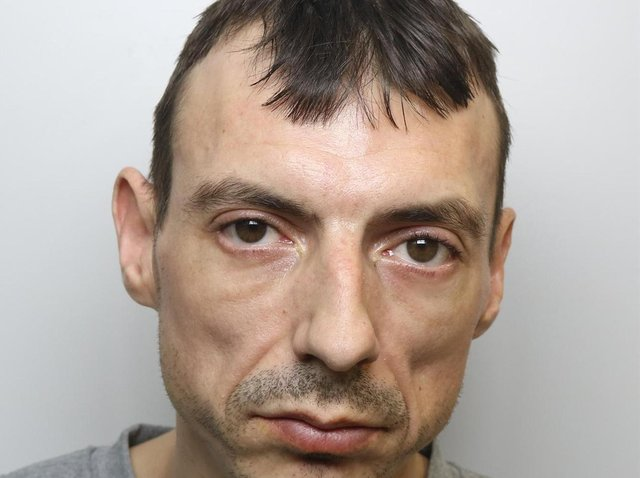 Robber James Cordingley was jailed for three and a half years.