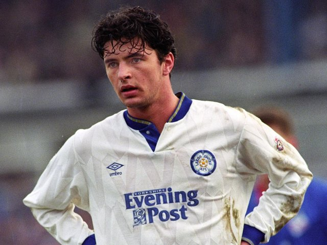 Gary Speed. PIC: Varley Picture Agency
