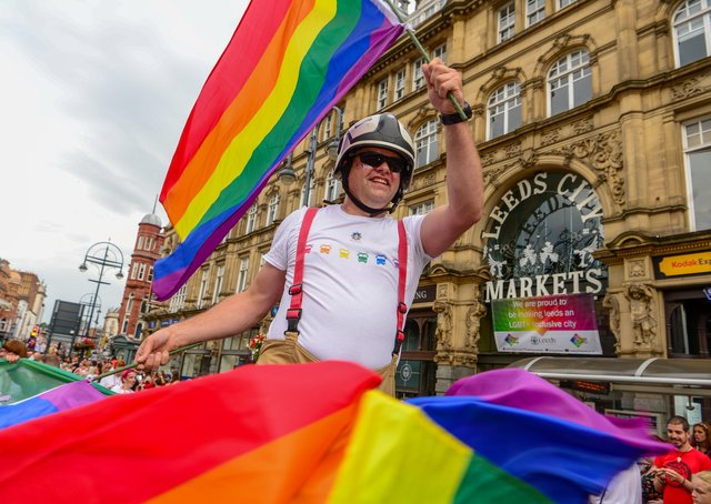 Leeds has been welcoming to the LGBT+ community in Leeds.  Picture: James Hardisty.