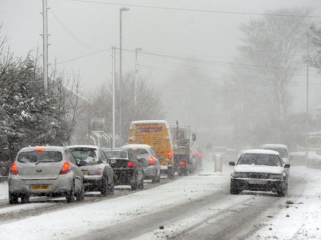 It could be about to snow again in Leeds this weekend