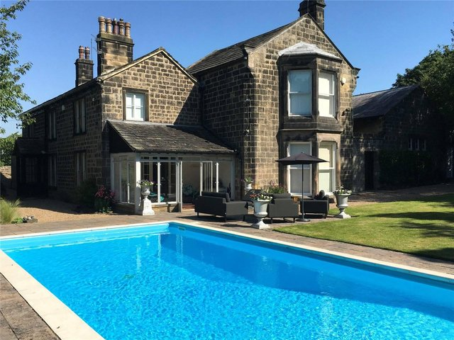 Take a look inside this stunning mansion in Rawdon...