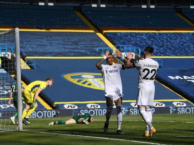 MATCH WINNER - Phil Jagielka's own goal gave Leeds United a 2-1 win over Sheffield United at Elland Road. Pic: Jonathan Gawthorpe.