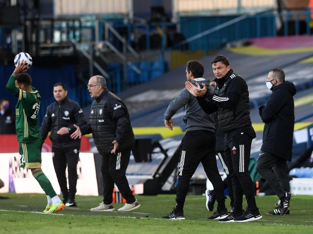 FRUSTRATED BOSS - Paul Heckingbottom was disappointed with Sheffield United's sloppy play and failure to take advantage of chances and set-pieces in defeat at Leeds United. Pic: Jonathan Gawthorpe