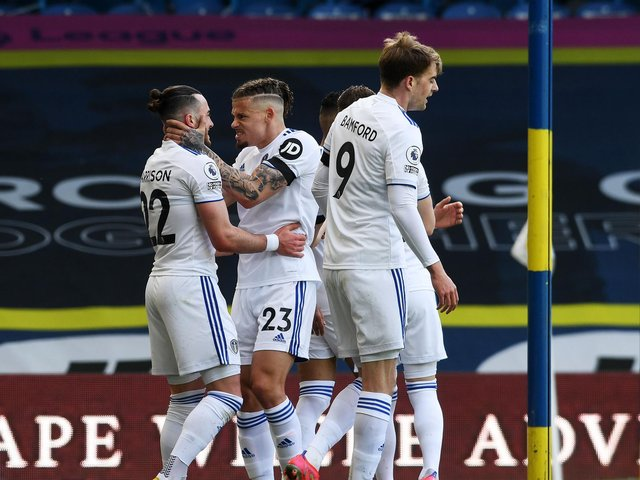 GOOD DAY - Leeds United ran out 2-1 winners against Paul Heckingbottom's Sheffield United but could have scored more. Pic: Jonathan Gawthorpe