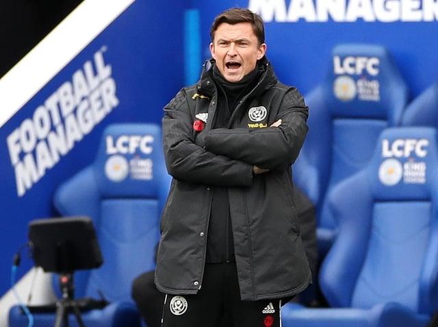 Sheffield United interim manager Paul Heckingbottom. Pic: Getty