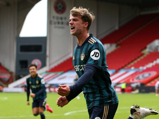 CHASING A DOUBLE: Leeds United recorded a 1-0 success in September's clash at Sheffield United thanks to Patrick Bamford's 88th-minute winner, above. Photo by Alex Livesey/Getty Images.