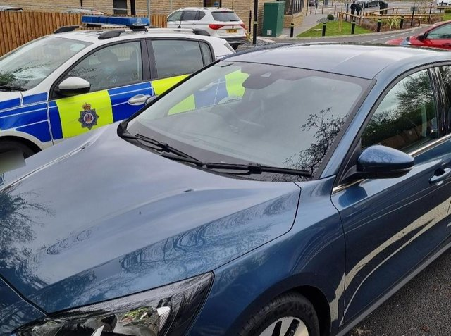 A learner driver had his car seized at a McDonald's car park in Leeds (photo: West Yorkshire Police - Leeds South)