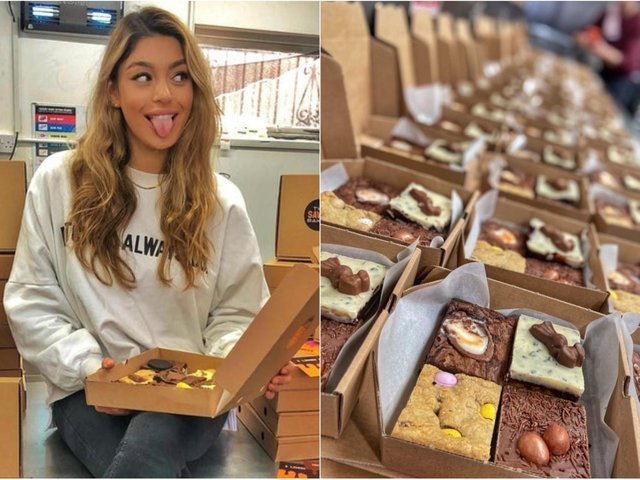 The Savvy Baker has catered for Leeds United football players previously