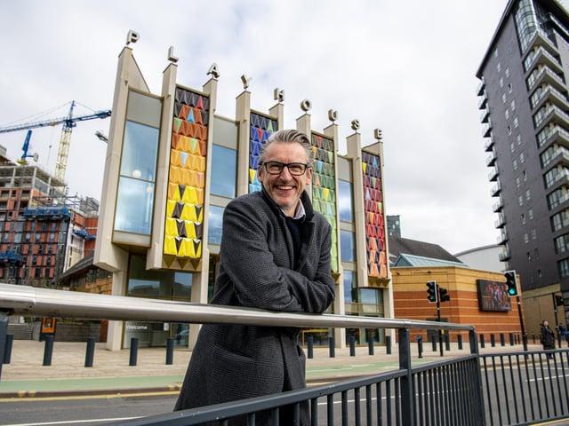 James Brining, Artistic Director at Leeds Playhouse (photo: Tony Johnson)