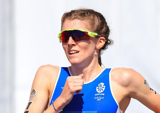 Leeds-based triathlete Beth Potter. Picture: Mike Egerton/PA Wire.