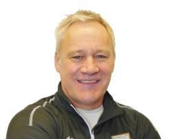 Hunslet coach Gary Thornton.
