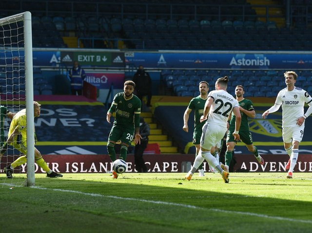 ON FORM - Jack Harrison scored one and made one for Leeds United against Sheffield United on Saturday. His return to form was recognised by head coach Marcelo Bielsa. Pic: Jonathan Gawthorpe
