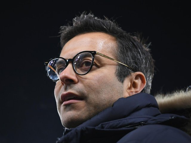 ALL IN - Andrea Radrizzani's Leeds United went for promotion last season knowing they would need to sell players if they didn't achieve the goal. Pic: Getty