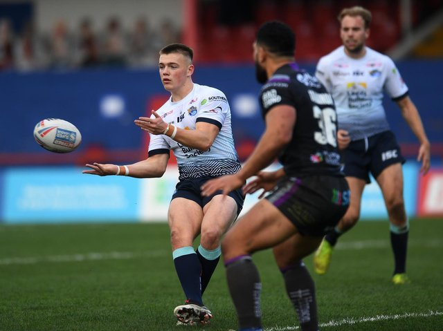 Callum McLelland last played in Rhinos' narrow win at Wakefield on November 1 last year. Picture by Jonathan Gawthorpe.