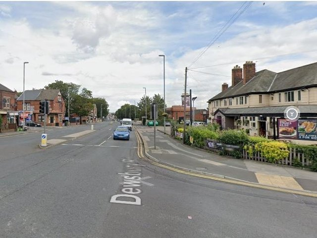 Robbery victim was attacked on Dewsbury Road, Beeston.