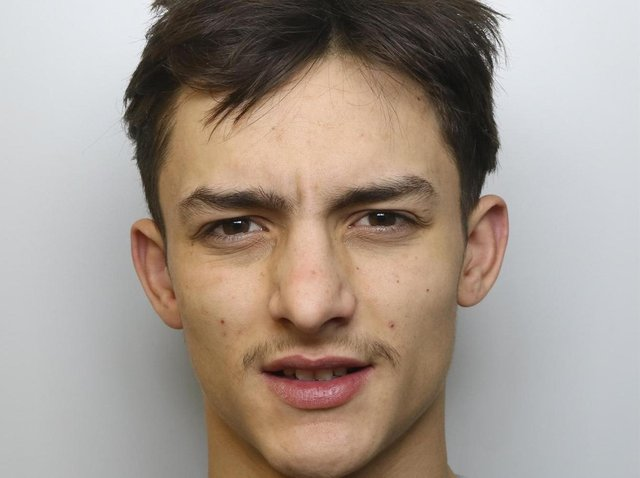 Harry Jackson was given an eight-year extended prison sentencing for stabbing a man with a Rambo knife in a street in Middleton.