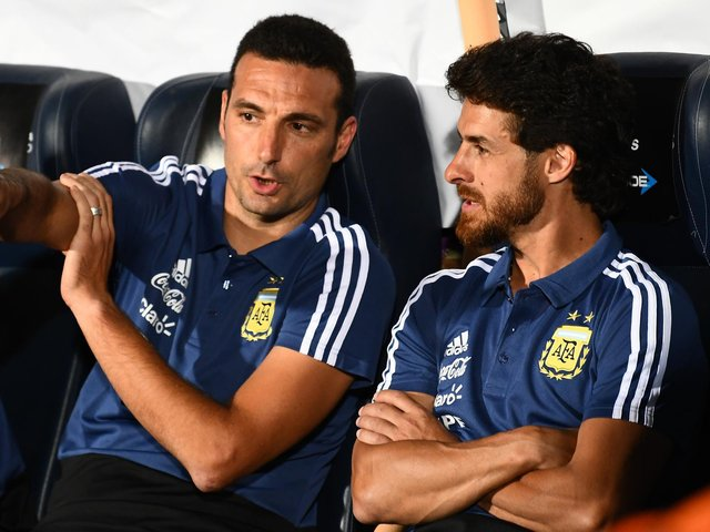 BIELSA INFLUENCE - Pablo Aimar, right, says Leeds United boss Marcelo Bielsa is someone who impacts all the players he works with. Pic: Getty