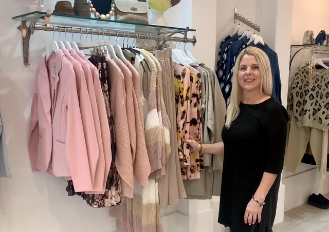 Karen James, owner of K Boutique in Brighouse, says she has received plenty of support in the town since she opened the shop at the end of 2020.