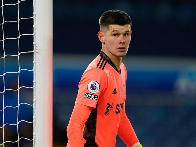 RECORD BREAKER - Leeds United stopper Illan Meslier set the Premier League record for clean sheets kept by a keeper under the age of 21 in a single season. Pic: Getty