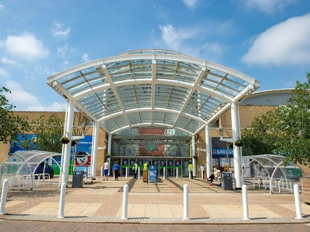 The White Rose Shopping Centre.