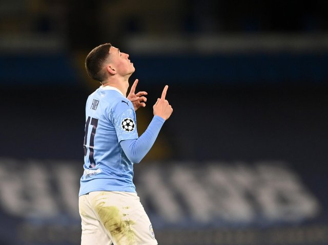 RISING STAR - Phil Foden was marked out as special as a nine-year-old at Manchester City. Pic: Getty
