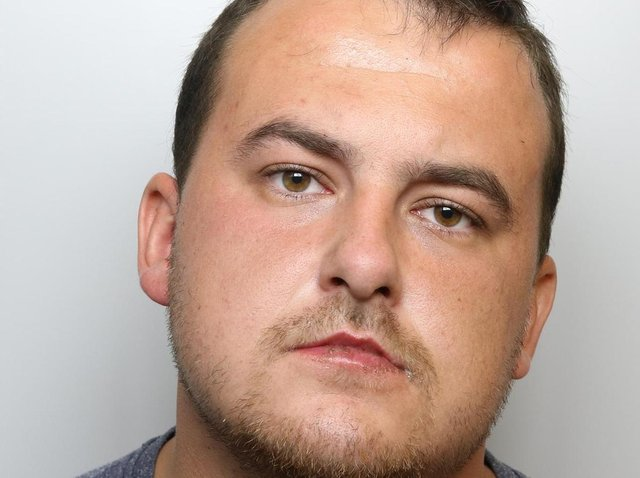 Benjamine Swindells was jailed for 19 months after his pet dog savaged an 11-year-old boy.