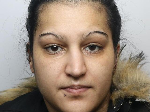 Burglar Irena Seresova stole over £30,000 worth of computers from Leeds University.