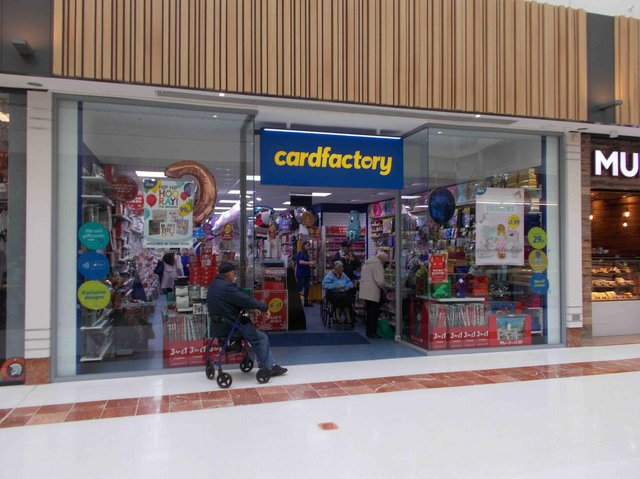 Library image of a Card Factory store