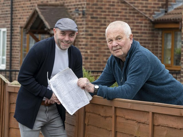 Chris Baker and Dennis Best have created an information leaflet on the history and legacy of the Peckfield Pit disaster in Micklefield.
