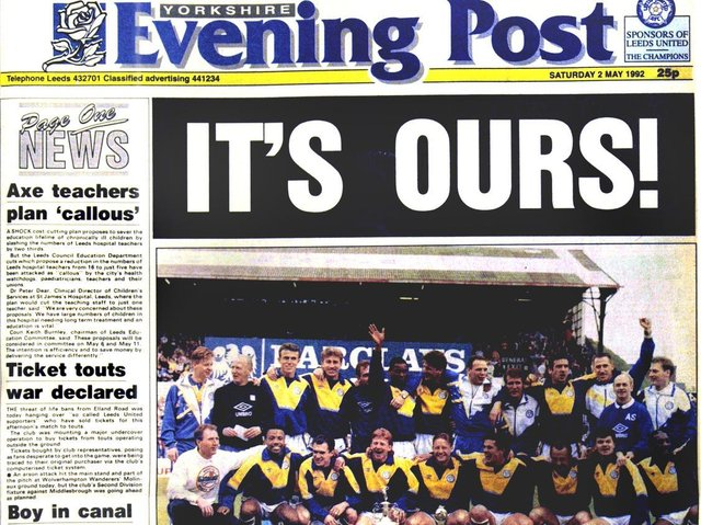 Flick through the pages of history with these iconic YEP front pages down the decades. Which do you remember the most?