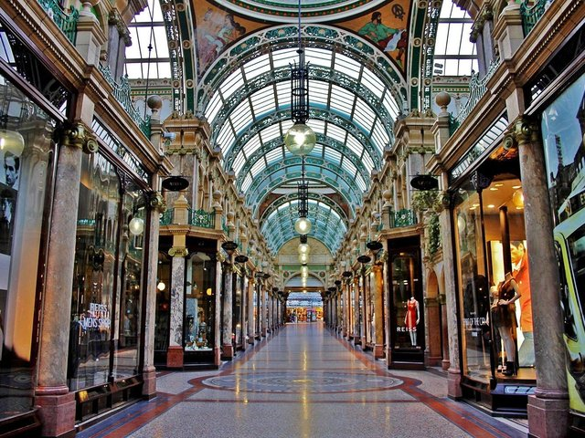 Harvey Nichols and other shops in the Victoria Quarter will reopen on April 12.
