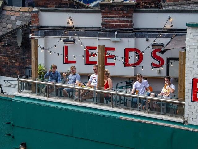 Will it be sunny when beer gardens reopen in Leeds?