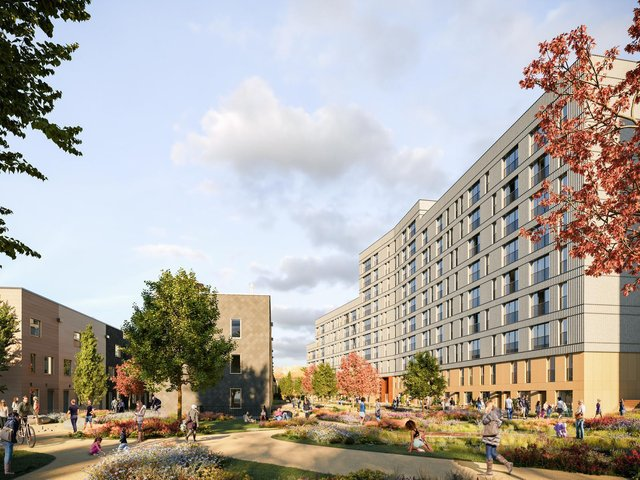 The new 'Aire Loft' apartments are part of the Climate Innovation District.