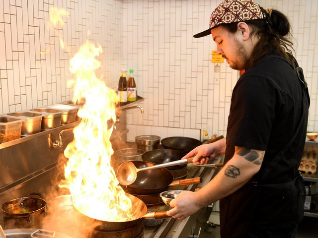 Chef Nathan Brown is back where it all started at Jino's Thai Cafe in Headingley