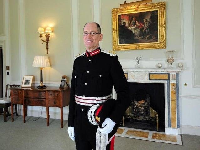Lord-Lieutenant of West Yorkshire, Ed Anderson. Picture: Simon Hulme.