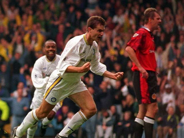 Enjoy these photo memories of Leeds United's 1-0 win against Manchester United in September 1997. PIC: Dan Oxtoby