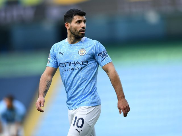 CLASS ACT: Manchester City striker Sergio Aguero who is leaving Manchester City after a decade at the club. Photo by Gareth Copley/Getty Images.