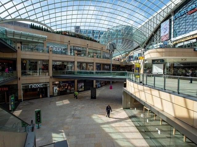 Trinity Leeds shopping centre.