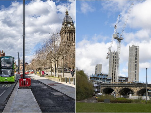 There's been lots of change in Leeds city centre.