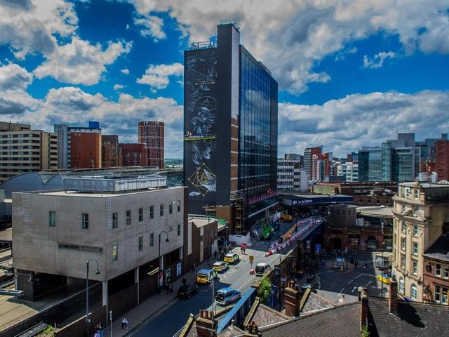 Leeds city centre