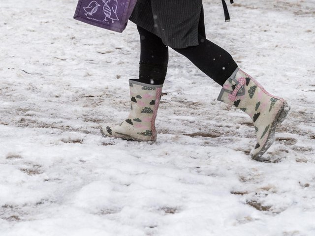More snow is on the way this weekend (stock image)