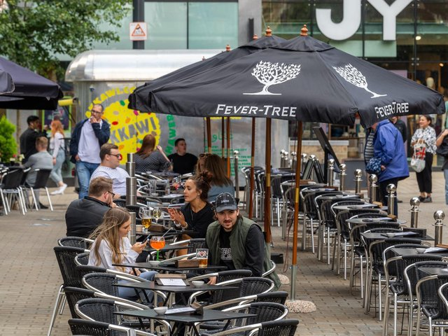 Tourists planning a Leeds staycation were eager to drink and dine in the city's restaurants, cafes and bars