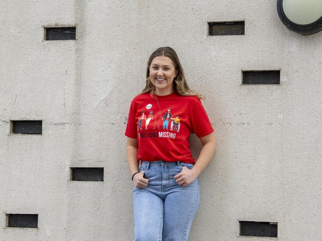 Charlie Wainwright, 24, who was diagnosed with ME at the age of 11. She has now set up a website to help others in Leeds with the condition. Picture: Tony Johnson