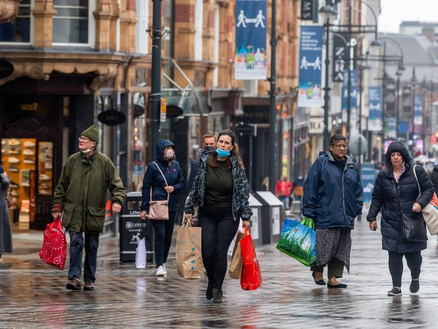 "People hitting Leeds high streets on April 12 are being asked to ""think small and shop local"""