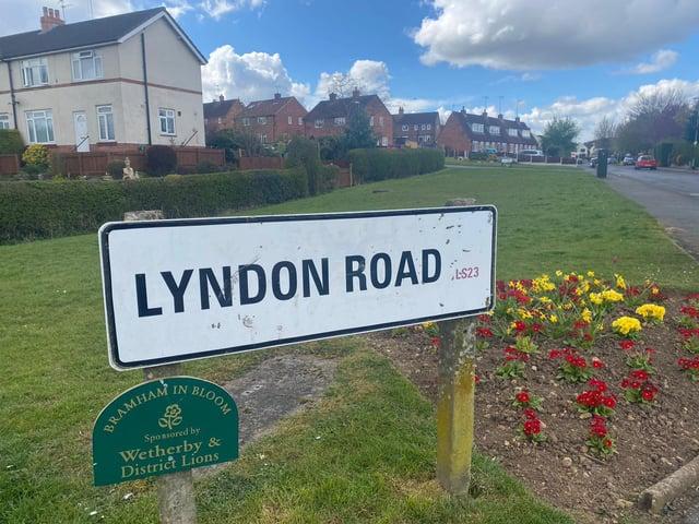 Lyndon Road, Bramham