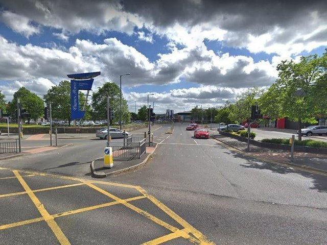 Crown Point Shopping Park (photo: Google).