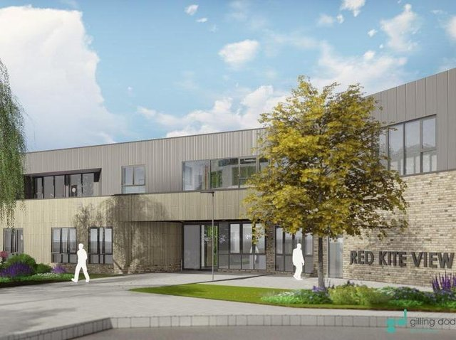An artist impression of what the new Red Kite project will look like.