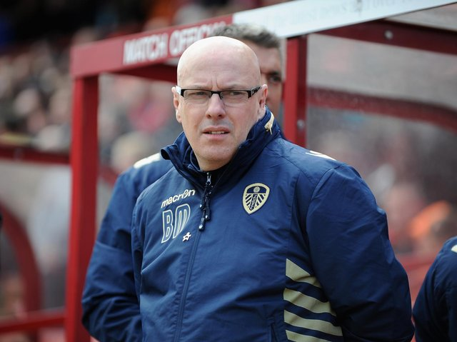 Former Leeds United manager Brian McDermott. Pic: Getty
