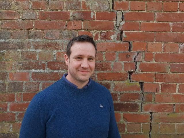 SatSense CEO Matthew Bray
