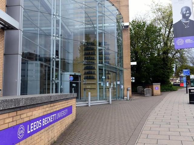 Leeds Beckett University.